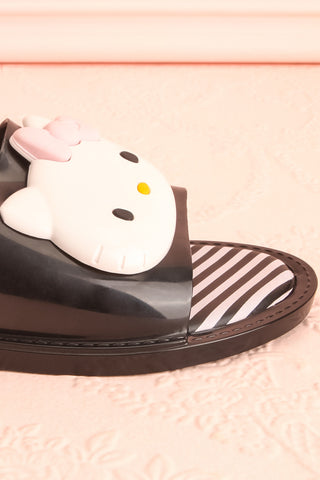 Tarnem Black Hello Kitty Slip-On Sandals | Boutique 1861 7