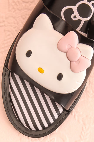 Tarnem Black Hello Kitty Slip-On Sandals | Boutique 1861 2