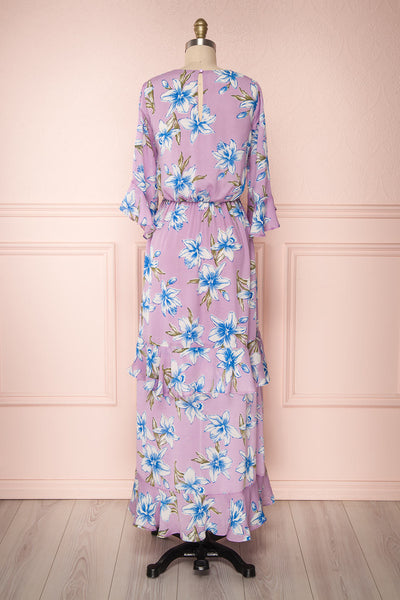 Tetua Lilas | Purple Floral Dress