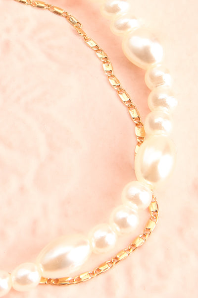 Tokie Pearl & Golden Chain Ankle Bracelet | Boutique 1861 2