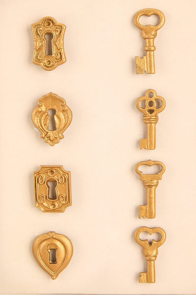 Tropea - Locks and keys magnets 2