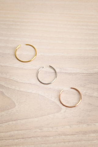 Ultio Set of 3 Different Colored Rings | La Petite Garçonne