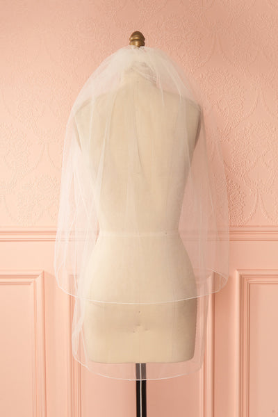 Urania Ivoire Ivory Light Mesh Wedding Veil | Boudoir 1861