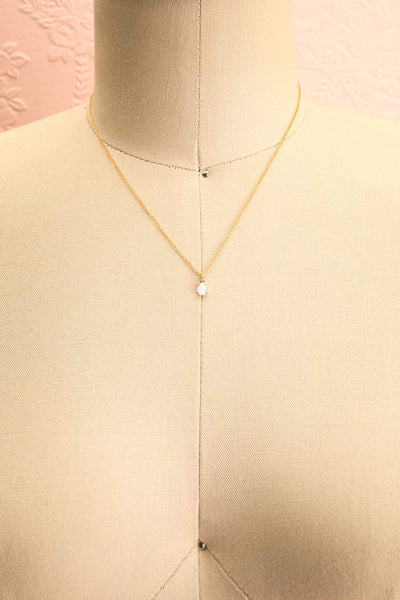 Valentina Terechkova Gold Pendant Necklace | Boutique 1861