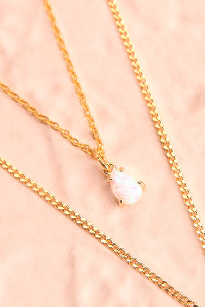 Valentina Terechkova Gold Pendant Necklace | Boutique 1861 flat close-up