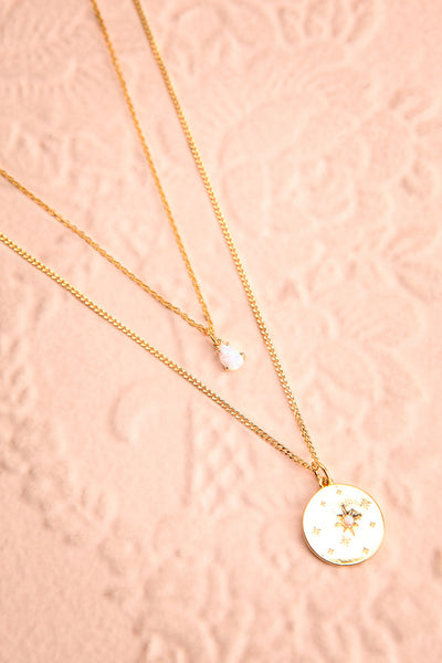 Valentina Terechkova Gold Pendant Necklace | Boutique 1861 flat view