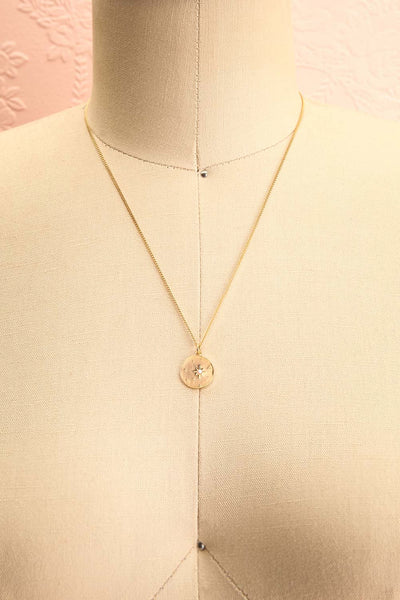 Valentina Terechkova Gold Pendant Necklace | Boutique 1861 medallion
