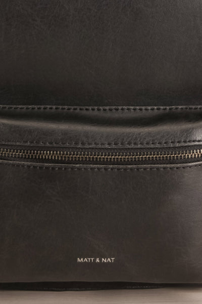 Voasa Black Vegan Leather Backpack | La Petite Garçonne Chpt. 2 3