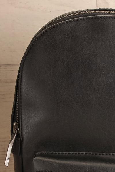 Voasa Black Vegan Leather Backpack | La Petite Garçonne Chpt. 2 10