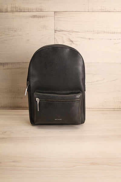 Voasa Black Vegan Leather Backpack | La Petite Garçonne Chpt. 2 4
