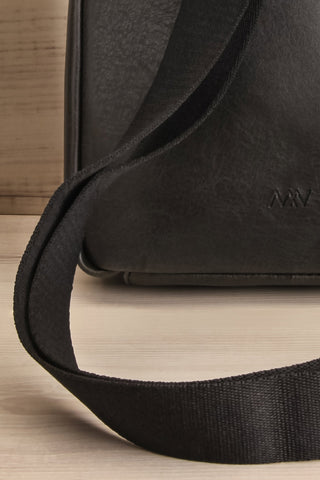 Voasa Black Vegan Leather Backpack | La Petite Garçonne Chpt. 2 8