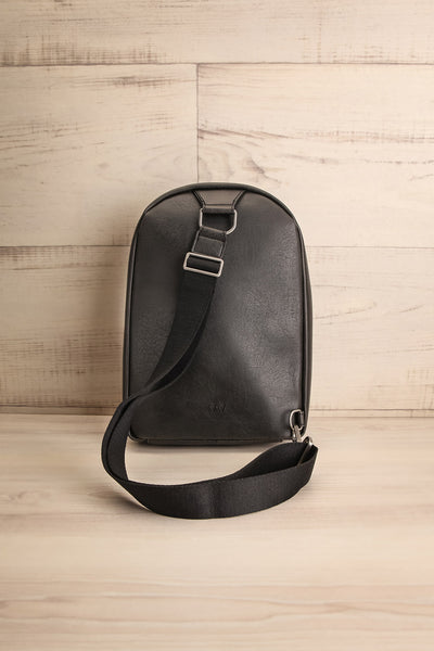 Voasa Black Vegan Leather Backpack | La Petite Garçonne Chpt. 2 6