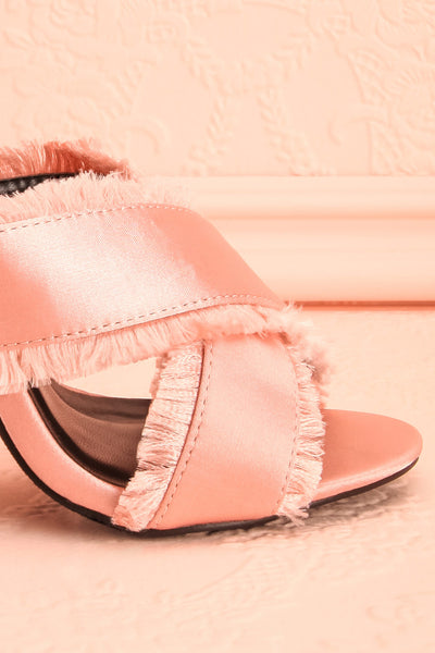 Edit website SEO Vrillière Blush High Heel Slip-on Sandals | Boutique 1861
