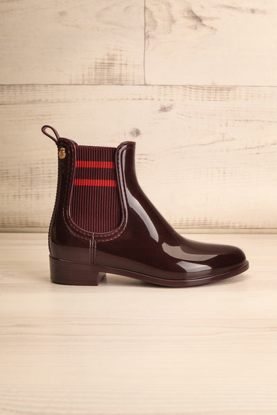 Wailea Wine Red Boots | Bottines | La Petite Garçonne Chpt. 2 side view