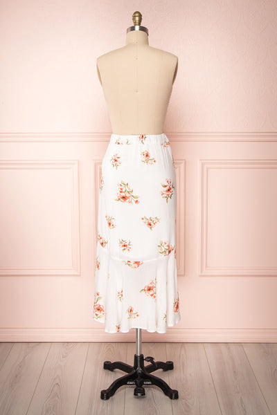 Yatomi White Floral Wrap Skirt | Boutique 1861 6
