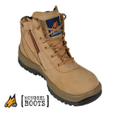 Mongrel 261050 Safety Boots - Zip Side