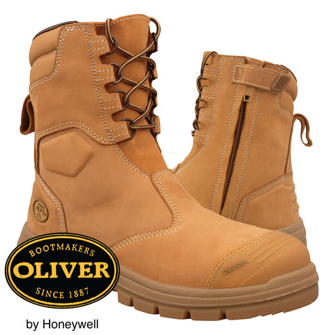 Oliver Safety Boots High - Zip Side 55385