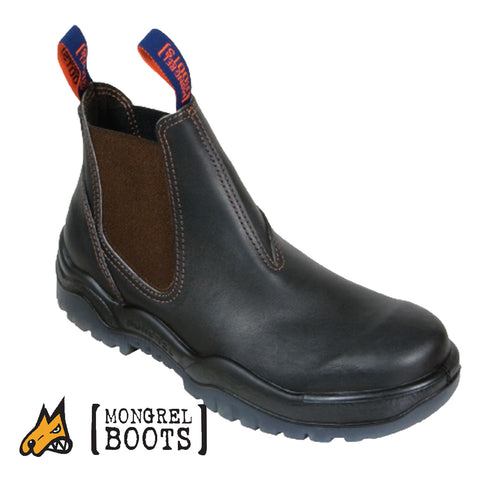 Mongrel 916030 Non-Safety Boots - Elastic Side