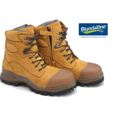 Blundstone Safety Boots - Zip Side 992