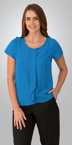ladies-cascade-short-sleeve-aqua