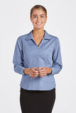 FBCR6021-Ladies-longsleeve-classic-stripe-shirt
