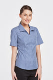 FBCR6021-Ladies-shortsleeve-classic-stripe-shirt