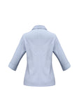 ambassador-3-4-sleeve-shirt-blue-back