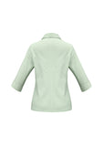ambassador-3-4-sleeve-shirt-green-back