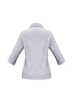 ambassador-3-4-sleeve-shirt-silver-grey-back