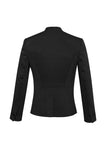 Womens Rococco Single Button Collarless Jacket