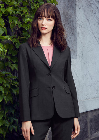 Womens Comfort Wool Longline Jacket