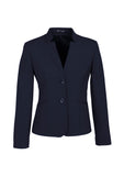 Womens Comfort Wool Reverse Lapel Jacket
