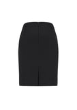 Womens Siena Front Pleat Straight Skirt