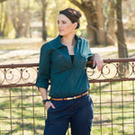 Women's Essential Long Sleeve Work Shirt