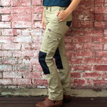 Womens SKNY Flex Utility Work Pants