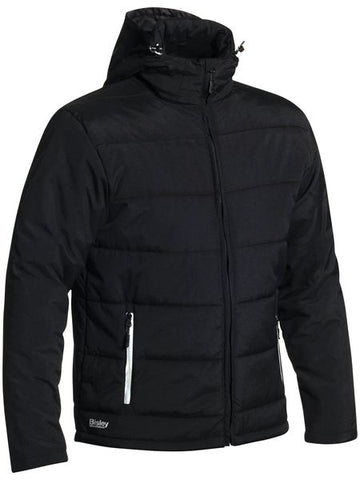Puffer Jacket with Adjustable Hood