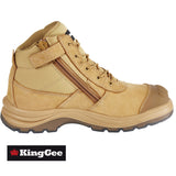 King Gee Tradie Safety Boots - Zip Side K27100