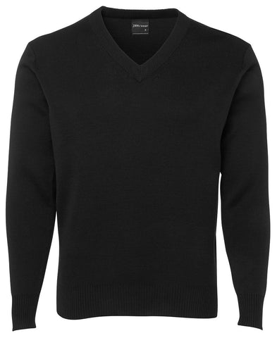 Adults V Neck Knitted Jumper 6J