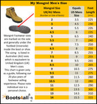 Mongrel 240020 Safety Boots Black - Elastic Side