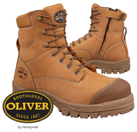 Oliver 45632Z Non Metallic Zip Side Safety Boots $161.95