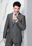 Mens Grey Slimline Jacket