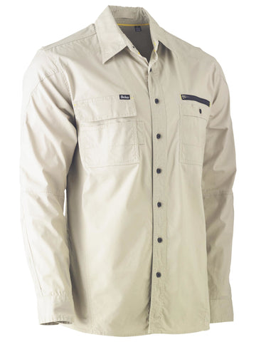 Flex & Move™ Utility Work Shirt - Long Sleeve