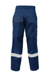 Hi Vis Tradesmen Pants with Knee Pads