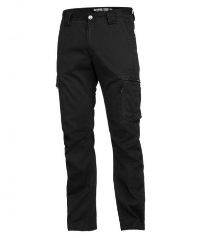 mens-narrow-tradie-pant-black-front