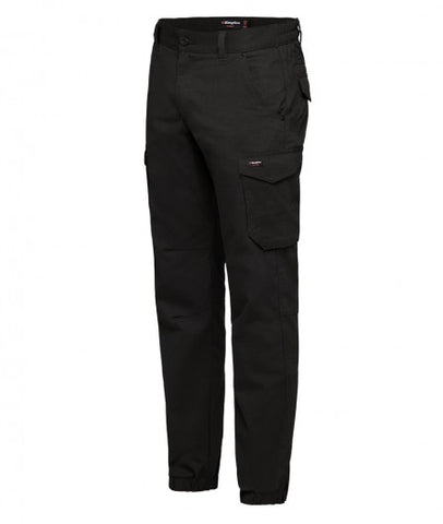 mens-tradies-elastic-hem-pants-front-black