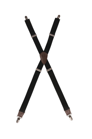 Berkeley Solid Cross Back Apron Suspender