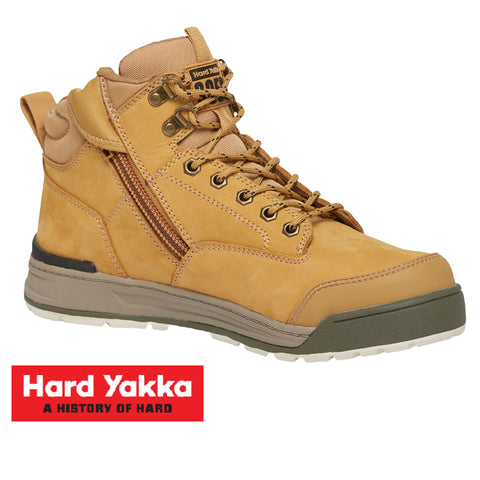 Hard Yakka 3056 Safety Boots - Zip Side Y60200
