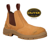 Oliver 55322  Elastic Sided Wheat Safety Boot