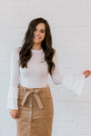 Grace Ruffle Sleeve Top