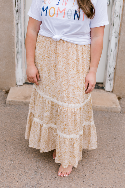 Little Miss Tulle Pleated Skirt